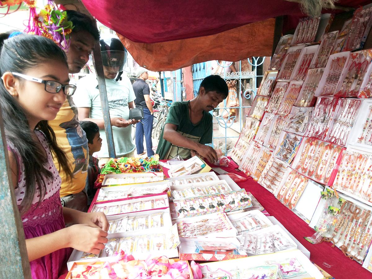 Shopping for Rakshabandhan