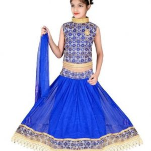 Princess Adorable Kid's Girl's Lehanga Choli Sets 1