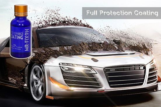 9H Mr Fix Car Liquid Ceramic Coat Super Hydrophobic 2