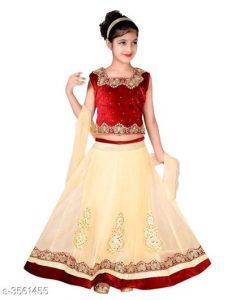 Princess Adorable Kid's Girl's Lehanga Choli Sets 5